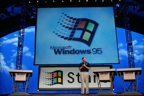 Windows 95 исполнилось 20 лет (ВИДЕО)