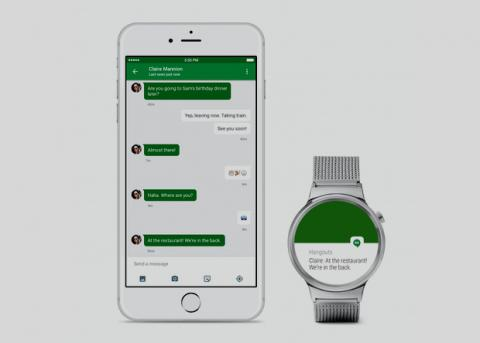 Google ��������� ���������� Android Wear ��� iOS