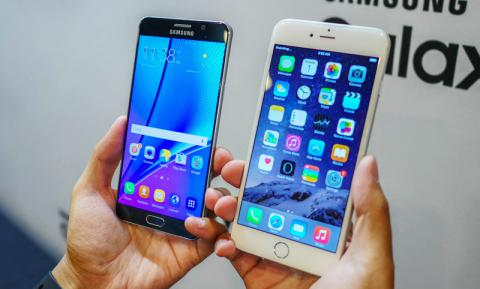 iPhone 6s Plus ������ Galaxy Note 5: ��� ������ �����? (�����)