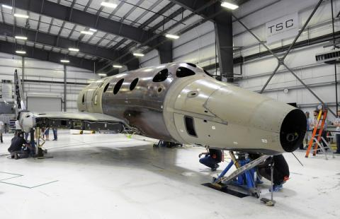 Virgin Galactic ���������� ����������� ������� � ��������� ���� (�����)
