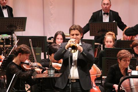 Во Львове прозвучал концерт для трубы с оркестром Александра Злотника (ВИДЕО)