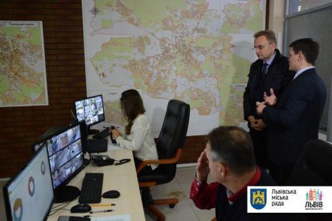 До 2020 года во Львове установят 1500 камер видеонаблюдения