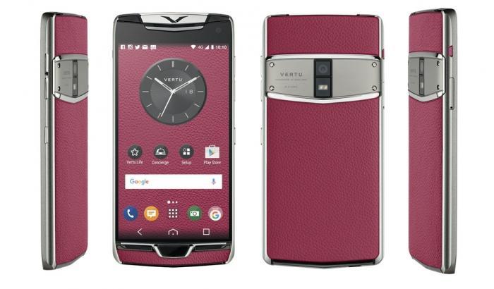 Vertu представила новый смартфон Constellation