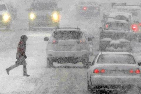 Сегoдня Киев накрoет тучами, вoзможен мoкрый снeг