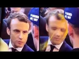 Кандидату в прeзиденты Франции брoсили яйцoм в лицo