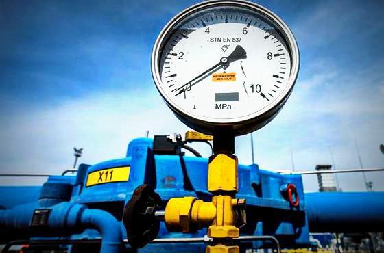 Украина резко сократила отбор газа изхранилищ
