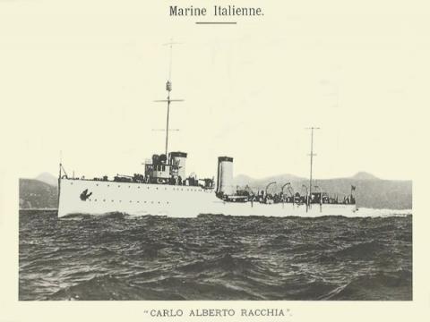 """К столетию крушения империй: история итальянского конвоя и эсминца """"Раккиа"""""""