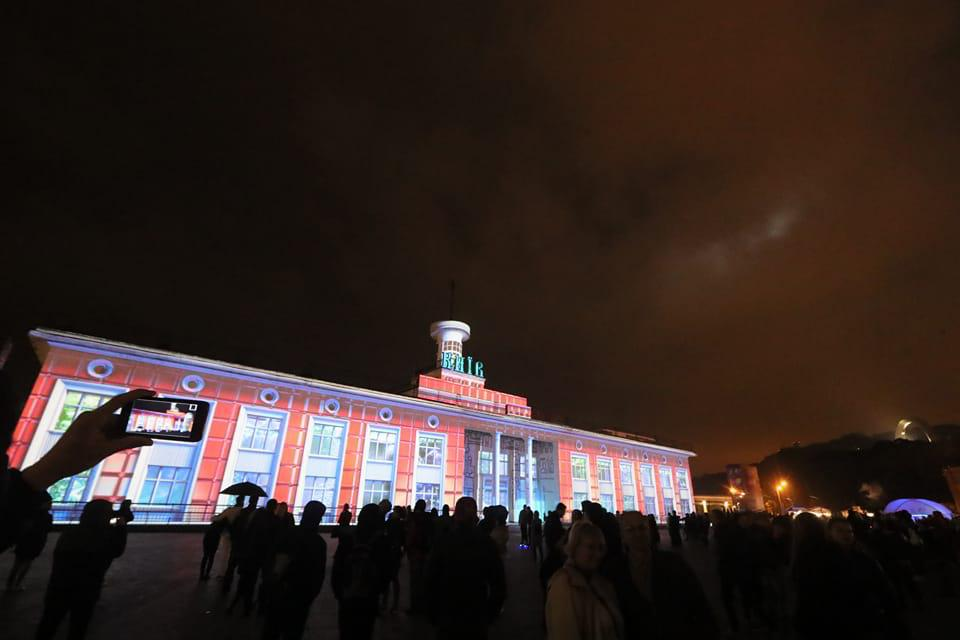 ВКиеве стартует 1-ый международный фестиваль света Kyiv Lights Festival