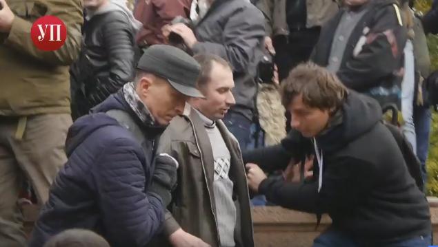 Милиция столицы Украины проинформировала количество участников марша националистов