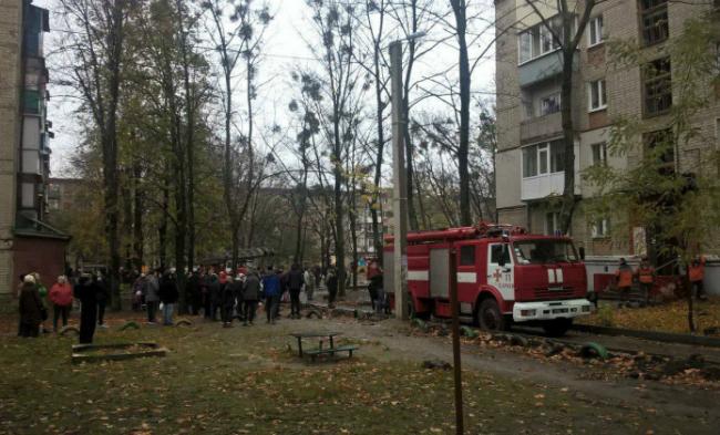 ВХарькове вквартире произошел взрыв газа: появился пожар
