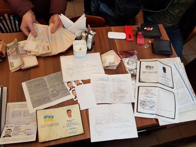 Силовики задержали группу лиц заизготовление исбыт поддельных паспортов