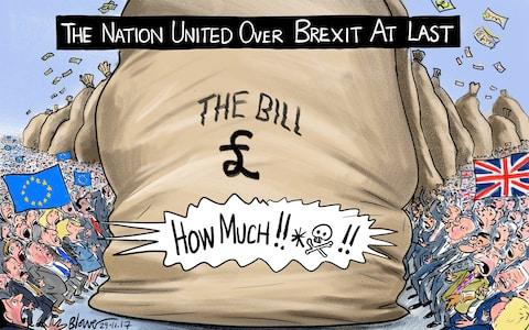 Великобритания согласовала предварительную сумму компенсации завыход изЕС