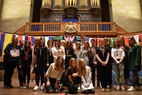 Украинские школьники представили страну на международной Олимпиаде в Англии