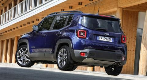 Jeep Renegade обзавелся новыми турбомоторами