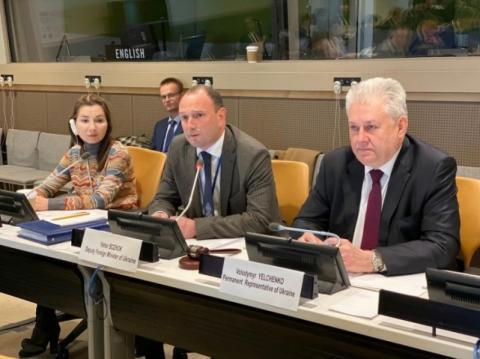 Украина напомнила ООН о возобновлении Россией ядерной инфраструктуры в оккупированном Крыму