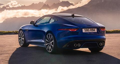 Jaguar F-Type претерпел рестайлинг