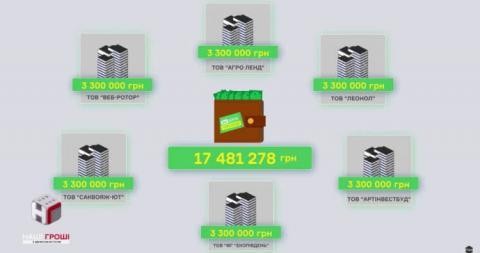 """""""Слугу народа"""" финансировали миллионами повара, продавцы и фирмы с орбиты Мангера"""