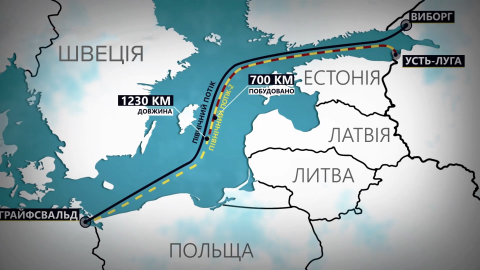 """США согласовали санкции против """"Северного потока-2"""" и """"Турецкого потока"""""""