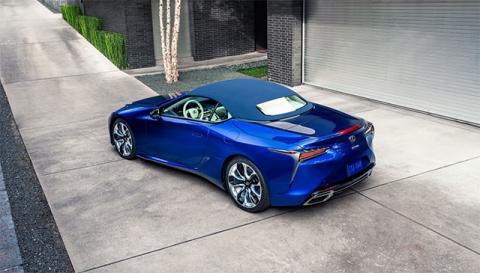 Кабриолет Lexus LC Convertible обзавелся особой версией