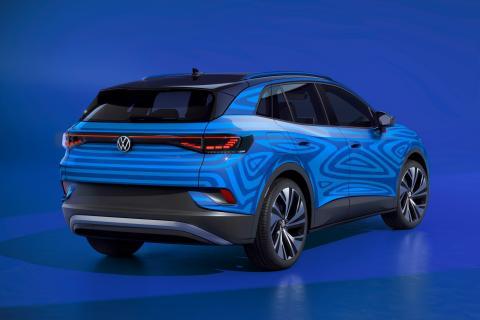 Volkswagen ID 4 — первый в электрический внедорожник от Volkswagen