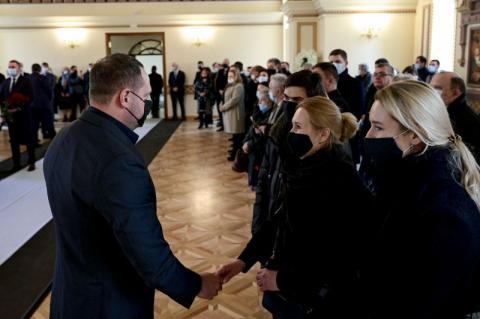 Владимир Зеленский принял участие в прощании с Анатолием Зленко