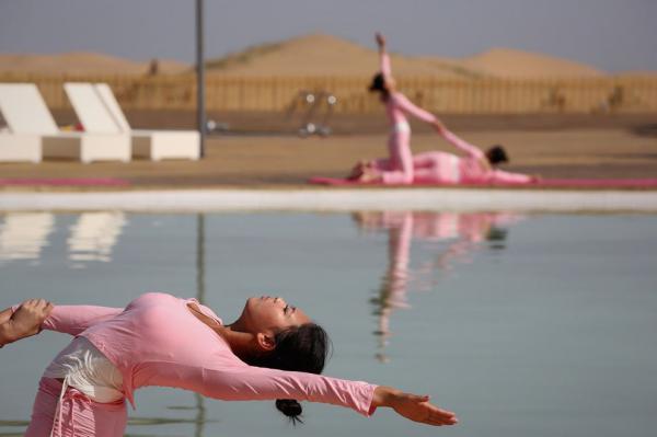 Жаркая Азия. Как выглядит роскошный курорт в пустыне Гоби (ФОТО)