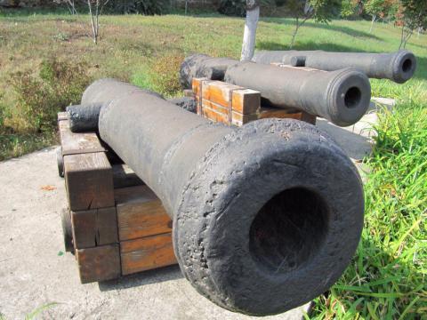 Пушки Одессы: чугунные свидетели баталий прошлого (ФОТО)